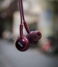 Tai nghe Akg S9 Plus đỏ