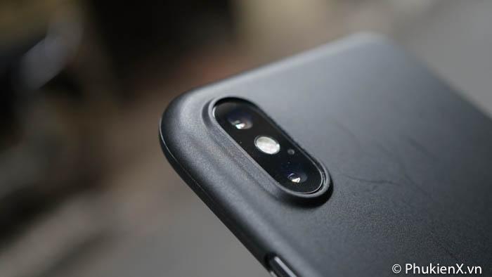 ốp memumi iphone x đen