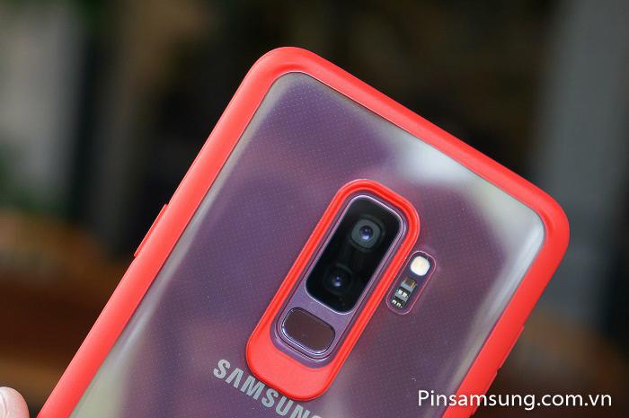 Ốp lưng trong viền màu Likgus Galaxy S9 Plus