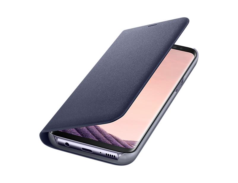 Bao da Led View Cover Galaxy S8 chính hãng