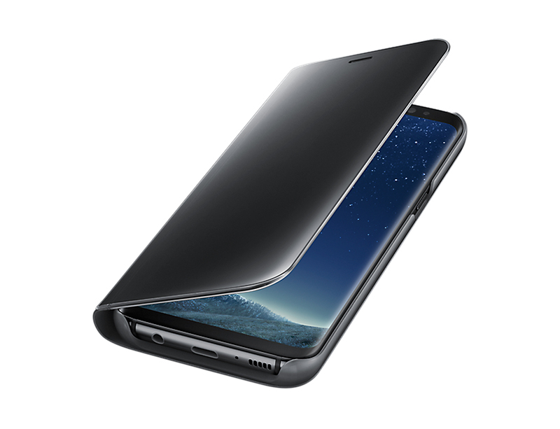 Bao da Clear view Galaxy S8 Plus