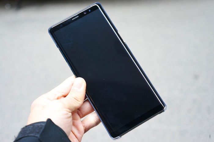 Ốp Clear cover theo máy Galaxy Note 8