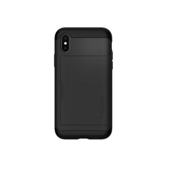 Ốp Cài thẻ Spigen Slim Armor iPhone x
