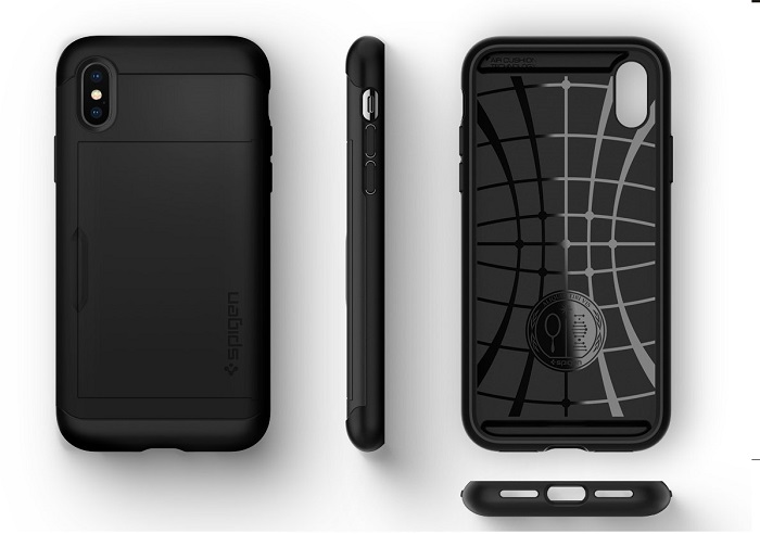 ốp spigen slim armor iphone x