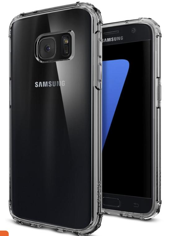 Ốp Spigen trong suốt Galaxy S7