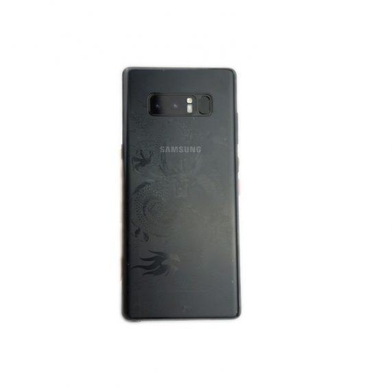 Dán Skin 3Dhình rồng cho mặt lưng Galaxy Note 8