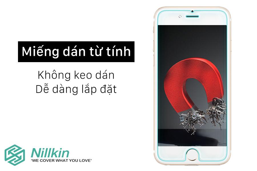 Cường lực Nillkin 9H+ iPhone 8 Plus