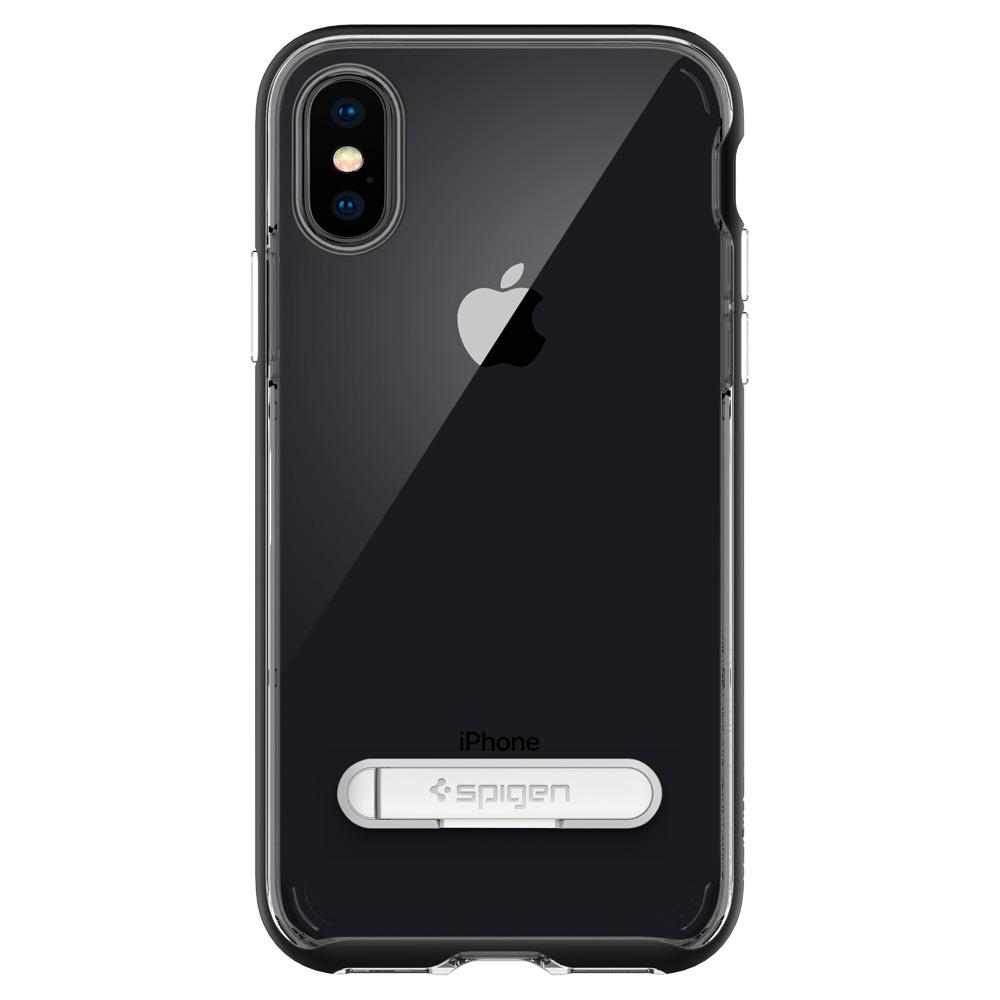 Ốp Spigen Crystal Hybrid iPhone X
