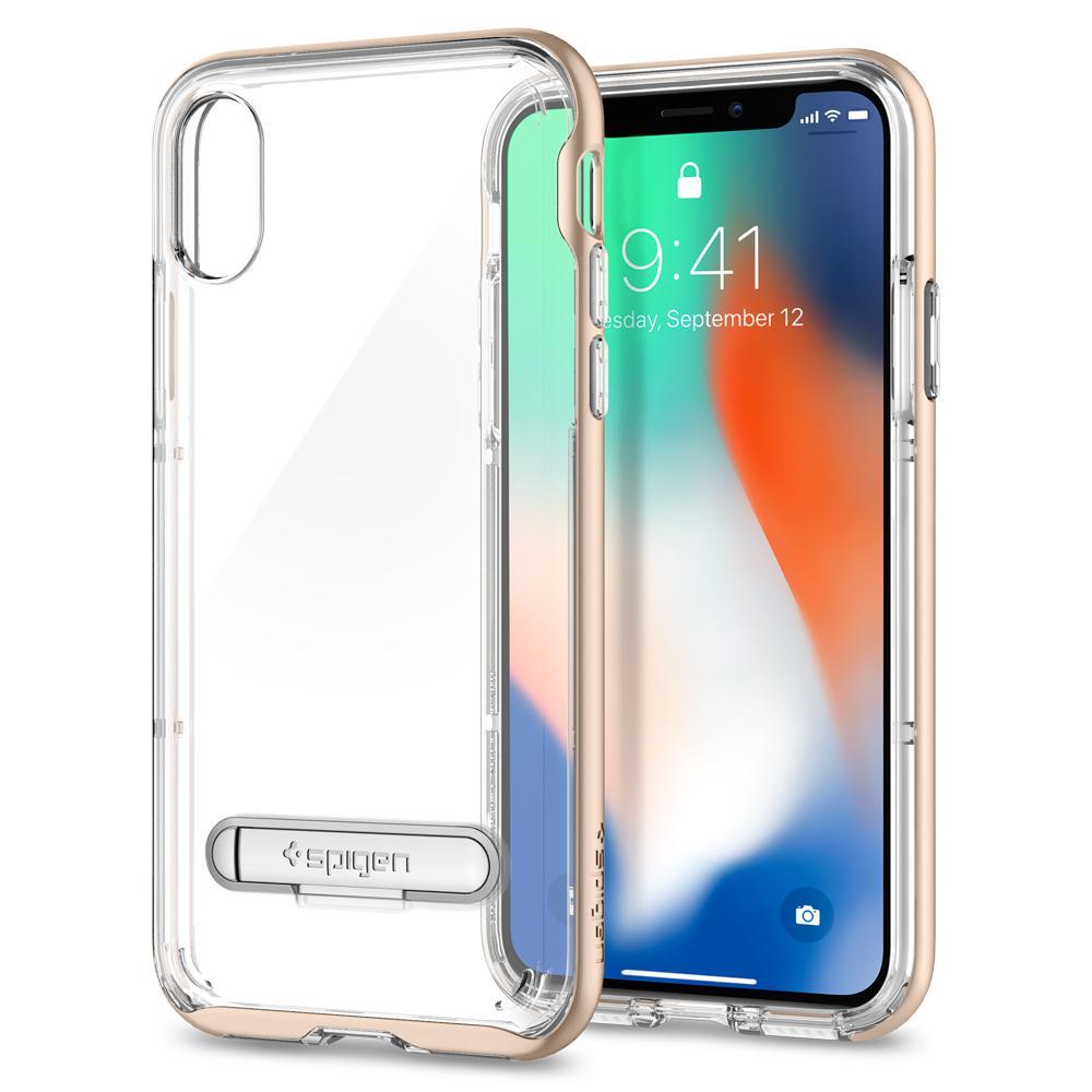 Ốp Spigen Crystal Hybrid iPhone X