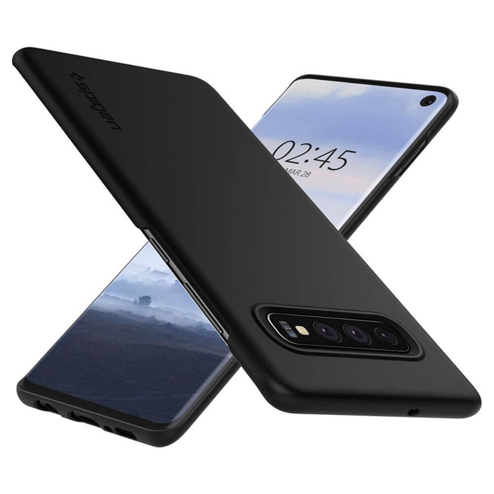 Ốp lưng Spigen Thin Fit Galaxy S10 Plus