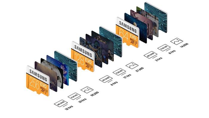 thẻ nhớ Samsung 128G chính hãng