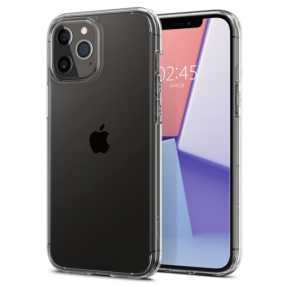 Ôp lưng Spigen Crystal Hybrid iPhone 12 Pro Max